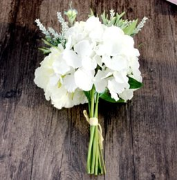 Hydrangea Bouquet Of Peony Simulation Flower Artificial Flower Export In Foreign Trade Wedding Home Decor