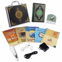 Livraison gratuite 8GB Quran stylo de lecture plume quran lecture plus de 25 reciters arabe français, ourdou, anglais, espagnol