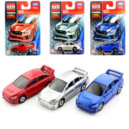 tomy tomica car miniature kids subaru wrx sti diecast models sport race cars collection play loose toys cheap plastic boy gift for children