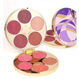 2016 Tarte Cosmetics Edição Limitada Cor Roda Amazônica Blush Palette 10 Color High Performance Maquiagem Natural Blusher Kits Free DHL