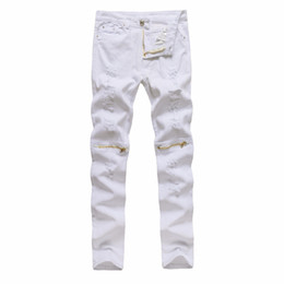 White Torn Skinny Jeans Online  White Torn Skinny Jeans for Sale