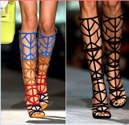 Thigh High Sandals Heels Online | Thigh High Sandals Heels for Sale