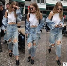 Rip High Waist Jeans Wholesale Online | Rip High Waist Jeans ...