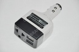 Llfa08 CC libre 12V del envío al cargador auto del adaptador del inversor del convertidor de energía del coche de la CA 220V con la carga del USB