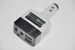 Llfa08 Livraison gratuite DC 12V à AC 220V auto voiture convertisseur inverseur adaptateur chargeur avec charge USB