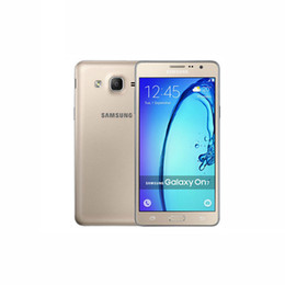 Original Samsung Galaxy On7 G6000 4G LTE double téléphone cellulaire SIM 5,5 pouces Android 5.1 Quad Core RAM1.5G ROM 8GB 13MP caméra smartphone