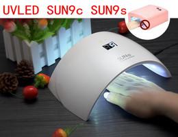 2017 UVLED SUN9c SUN9s 24W Профессиональная УФ-светодиодные лампы для ногтей Сушилка польской машины для лечения ногтей гель Art Tool
