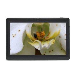 IRULU 7 pouces Tablet PC RK3126 Quadcore 1080 * 800 IPS écran 1G / 16G doubles caméras Android4.4 1.5GHZ Bluetooth Tablettes