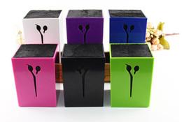 El nuevo pelo Scissors el profesional profesional del salón de la manera Scissor el envío libre de la alta calidad de la caja de almacenaje 4 colores LLFA