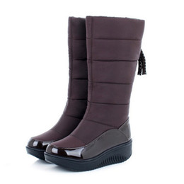 Discount Women Wedge Heel Dress Boots  2017 Women Wedge Heel ...