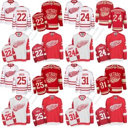 c2c7a93359a CCM Vintage Throwback NHL Hockey Jersey 2017 Centennial Classic Mens  Detroit Red Wings ...