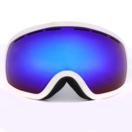 discount ski goggles d7j7  Wholesale- Ski Goggles Double Anti Rain Snow Skiing Eyewear High-Quality  Outdoor Climbing Thermal Radiation Ski Goggles Safety Protection