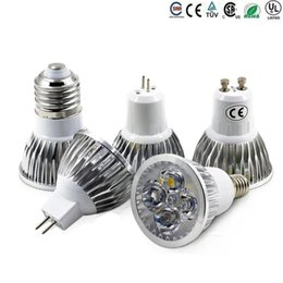 High Power Cree levou lâmpadas E27 B22 MR16 9W 12W 15W Dimmable E14 GU5.3 GU10 Led Spot luzes led lâmpadas downlight