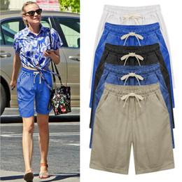 Discount Ladies Elastic Waist Shorts | 2017 Ladies Cotton Shorts ...