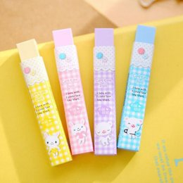 wholesale new cute candy color 2b eraser kids student exam calibration school supplies - Buy Candy By Color