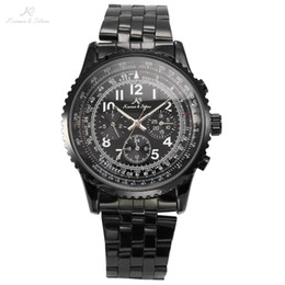 aviator automatic online automatic aviator watches for whole classic ks aviator stainless full steel luxury calendar waterproof wrap gift wrist automatic mechanical sport men s watch ks100