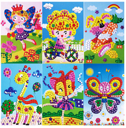 Discount sticker mosaic craft 2017 mosaic art sticker for Arts and crafts wholesale