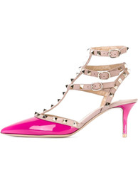 Hot Pink Low Heel Pumps Online | Hot Pink Low Heel Pumps for Sale