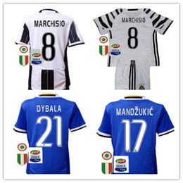 juventus away replica jersey camisetasd de futbol 2017 juventuses kids soccer jersey set uniforms 20