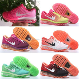 Discount shoes run air max Hot Sale Drop Shipping Top Quality max 2016 for Women Running air 2017 Sports Trainers Outdoor Kids Shoes free shipping