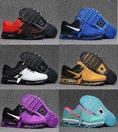 Discount shoes run air max Max 2017 Running Shoes Men Women Plastic drop Series Air KPU Cushion Max Mesh Shoes Original Quality Casual Walking Shoes Sneaker US5.5-13