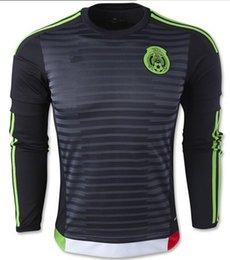 mexico black long sleeve jersey