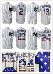 2017 baseball jerseys fashion men Stitched Mens 23 Don Mattingly USA Flag Fashion Baseball Jerseys New York Yankees 2 Derek Jeter 13 Alex Rodriguez 24 Gary Sanchez Jersey cheap baseball jerseys fashion men