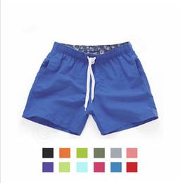Men's Board Shorts Nadar de Verão Secagem Rápida Shorts Homens Sports Shorts Beach Trunks Sólidos Super Men's Casual Rimwear RRA10