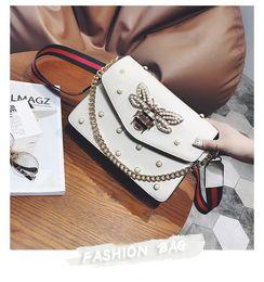 6af0db99cbf7 2017 animal print cross body bags 2017 factory brand handbag lovely  Rhinestone chain bag elegant woman
