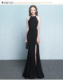 Vestido de noche 2017 nuevo largo homenaje vino novia vestido de novia hembra rojo anfitrión banquete sereno sirena falda