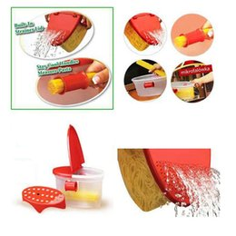 online shopping Spaghetti Bowl Microwave Kitchen Tools Bonus Steam Rack Built In Strainer Cooking Pasta Box Machine Pasta Boat Travel Outdoor Dining Accesso