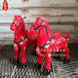 Super Horse Horse Home Furnishing Living Room Decoration Furnishings Ceramic Craft Gift Accessories Cai Feng Shui Transporter