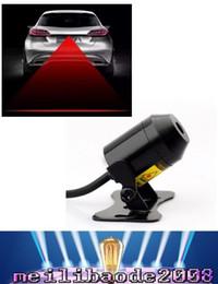 Luz de advertencia de la cola del coche Accesorios de la motocicleta Luz de niebla del laser Trasero que anti-colisión que conduce la señal de la seguridad lluvia que advierte la lámpara que labra MYY