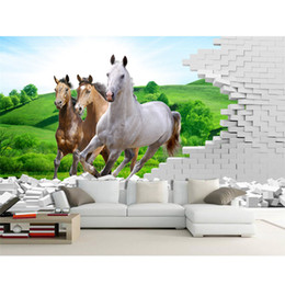 discount horse wallpaper for bedrooms 2017 horse