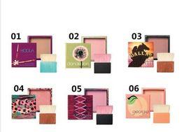 Six différents Style NOUVEAU Vente chaude Blusher Hula maquillage en poudre Blush 11g six styles différents