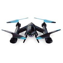 720P FPV drone X8SW RC Quadcopter hélicoptère 2.4G 4CH 6-Axis RC drones hélicoptère peut ajouter en temps réel 1.0MP caméra HD