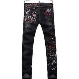 Colored Ripped Jeans Online | Colored Ripped Jeans Man for Sale