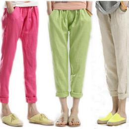 Womens Casual Linen Pants Online | Womens Casual Linen Pants for Sale