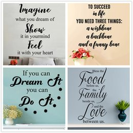 Discount Home Decor Interior Design Mixed Order Quote Wall Decal Family Love Sucess Decals Star Sticker