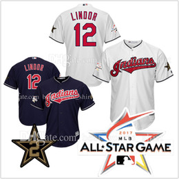 american league womens stitched mlb jersey cleveland indians 12 francisco lindor 2017 all star game baseball jerseys cool