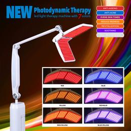 Salão de beleza Use PDT LED pele rejuvenescimento máquina Light Therapy Photon máquina com 7 cores profissional com CE
