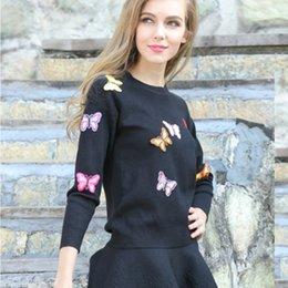 New Outono e Inverno Senhoras de malha saia Sweater Two-Piece Suit Vestido Saia Plus Size Sweater Bordado