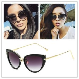 designer mirrored sunglasses f5ex  Brand Designer 2017 fashion Dita sunglasses dita heartbreaker women cat eye  sunglass coating mirror lens metal plated sun glasses frame