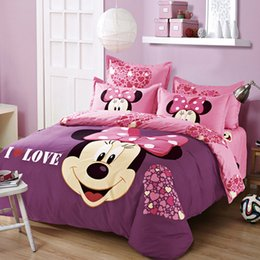 Discount Queen Size Minnie Mouse Bedding Set | 2017 Queen Size ...