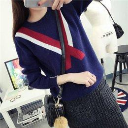 Новый 2017 осень / зима круглый шею с длинным рукавом свитер женский колледж устанавливает свободный свитер женщины новый пуловер свитер зимой свитера
