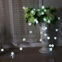 Fairy Lights Led Rattan Ball