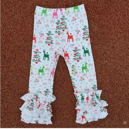 Wholesale Girls Icing Ruffle Leggings Icings Persnickety toddler ruffle pants aqua pink Triple ruffle leggings Icing capris