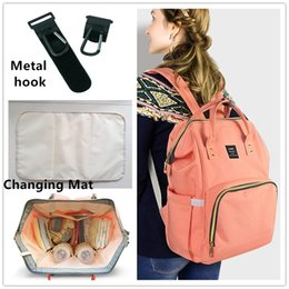 Mommy Backpack Nappies Bags Moda Mãe Maternidade Fralda Mochilas Grande Volume Outdoor Travel Bags Organizer 12 cores Free DHL MPB01
