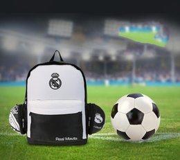 Wholesale Real Madrid Football Package Sac de sport de football pliable Outdoor Equipment Sac de sport d extérieur pour Real Madrid Players Stuff Sacks