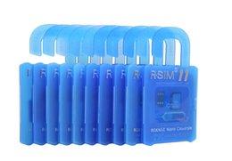 Новые R SIM 11 RSIM11 г sim11 RSIM 11 разблокировки карты для iPhone 5 6 7 6plus iOS7 / 8/9 / ИОС 10 ios10CDMA GSM / WCDMA SB AU СПРИНТ 3G 4G DHL Free